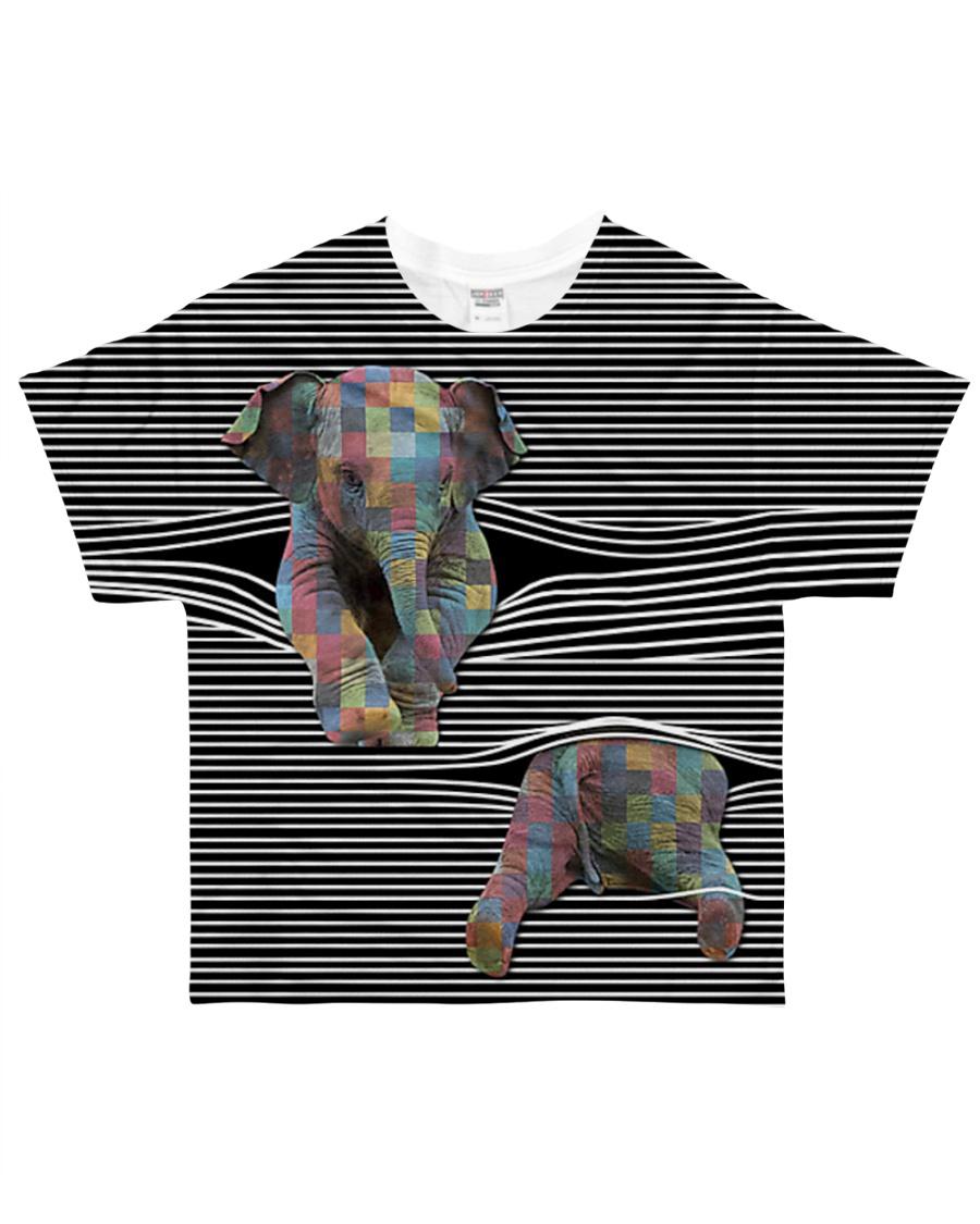 Love Elephants All-over T-Shirt