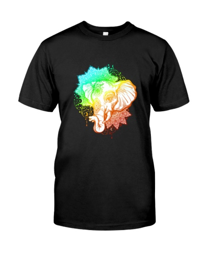 Elephant Colorful Art