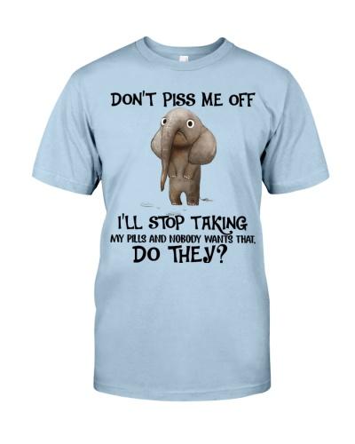 Elephant stop taking pills
