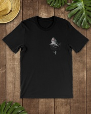 Shark in Pocket Classic T-Shirt lifestyle-mens-crewneck-front-18