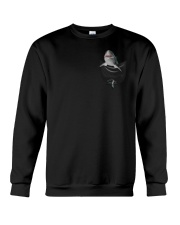 Shark in Pocket Crewneck Sweatshirt thumbnail