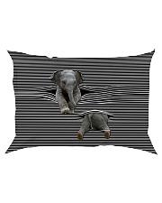 Elephants - Printfull Rectangular Pillowcase thumbnail