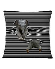 Elephants - Printfull Square Pillowcase thumbnail