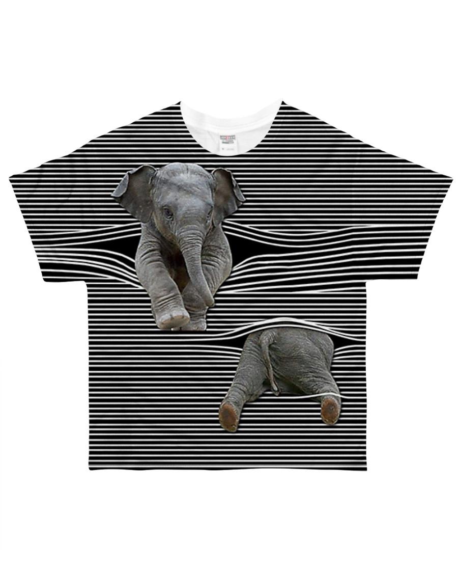Elephants - Printfull All-over T-Shirt