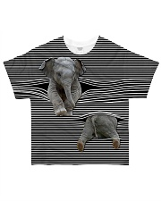 Elephants - Printfull All-over T-Shirt front