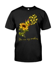 Elephants- You are my sunshine Classic T-Shirt front