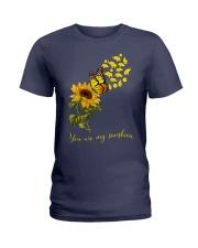 Elephants- You are my sunshine Ladies T-Shirt thumbnail