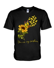 Elephants- You are my sunshine V-Neck T-Shirt thumbnail