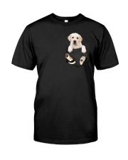 Labrador in Pocket Classic T-Shirt front