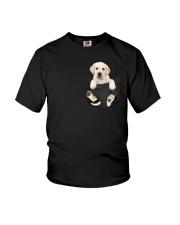 Labrador in Pocket Youth T-Shirt thumbnail
