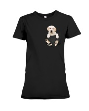 Labrador in Pocket Premium Fit Ladies Tee thumbnail