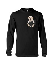 Labrador in Pocket Long Sleeve Tee thumbnail