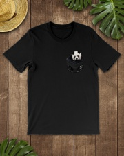 Panda in Pocket Classic T-Shirt lifestyle-mens-crewneck-front-18