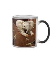 Love Elephants Color Changing Mug tile
