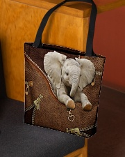 Love Elephants All-over Tote aos-all-over-tote-lifestyle-front-02
