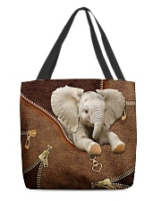 Love Elephants All-over Tote front