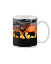 Elephants Sunset Mug thumbnail