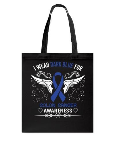 I Wear Colon Cancer Awareness Shirt
