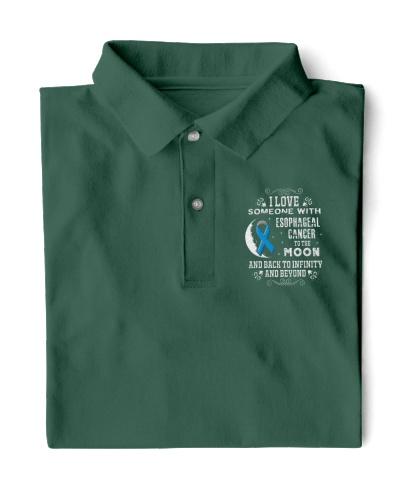 I Love Someone Esophageal Cancer Awareness Shirt