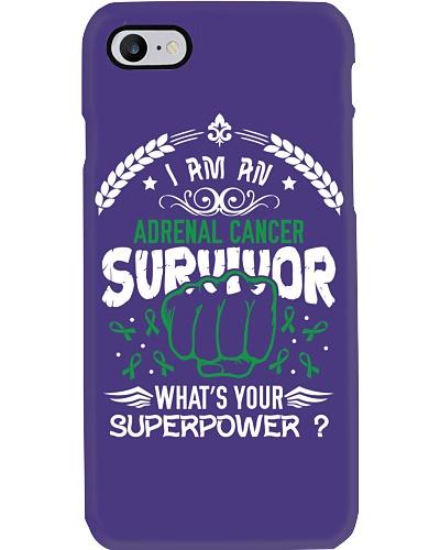 Superpower Adrenal Cancer Awareness Shirt