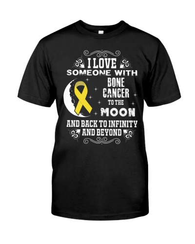 I Love Someone Bone Cancer Awareness Shirt