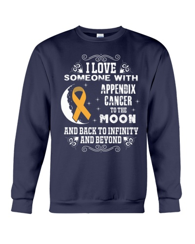 I Love someone Appendix Cancer Awareness Shirt
