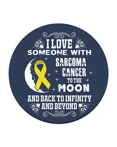 I Love Someone Sarcoma Cancer Awareness Shirt