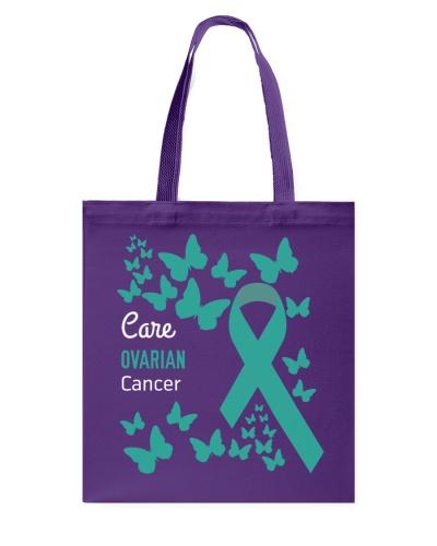 Care Ovarian Cancer Awareness Shirt
