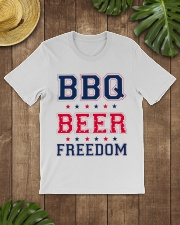 BBQ BEER FREEDOM Classic T-Shirt lifestyle-mens-crewneck-front-18