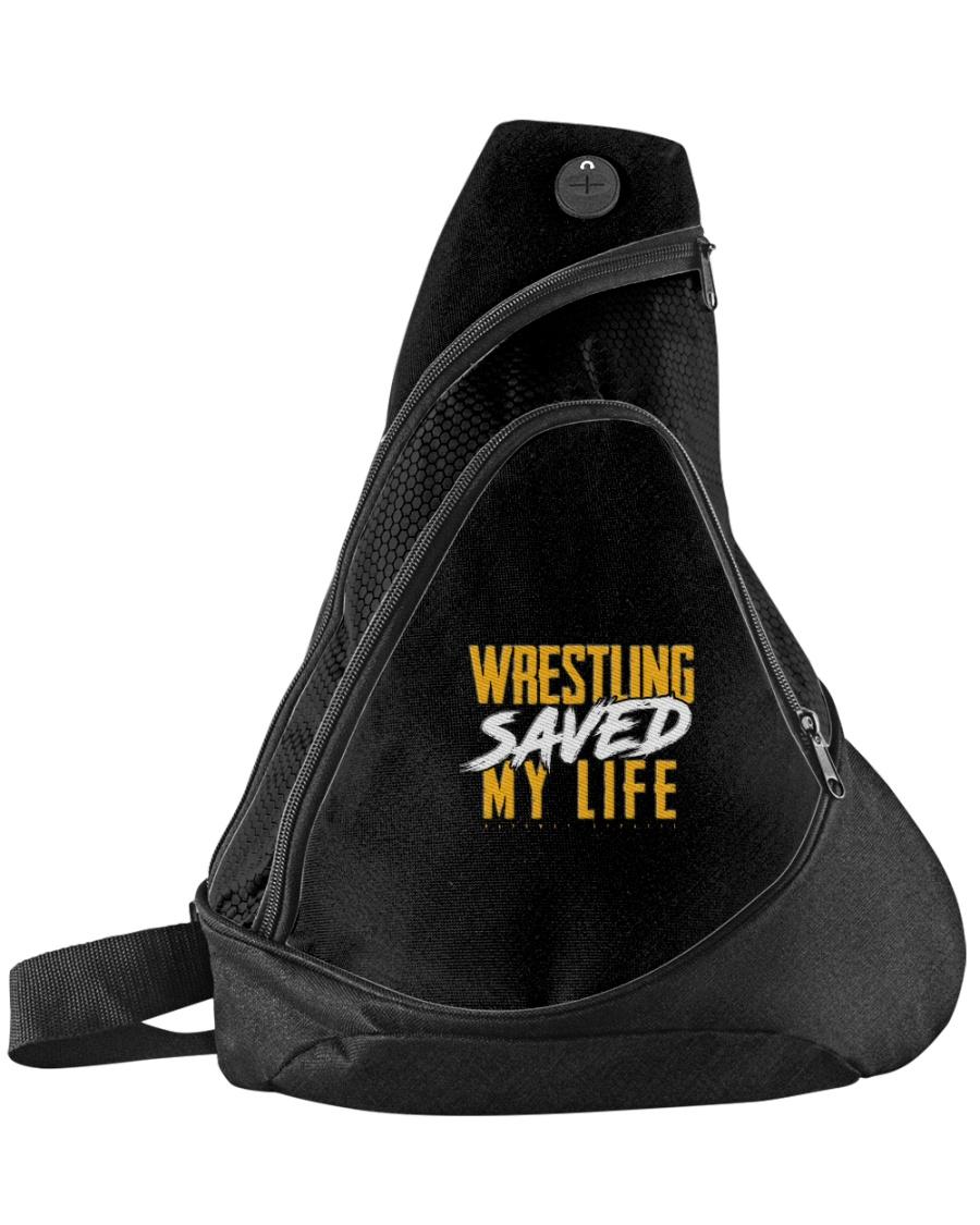 Wrestling Saved My Life Sling Pack