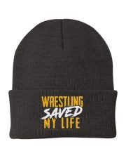Wrestling Saved My Life Knit Beanie thumbnail