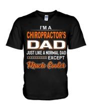 Chiropractor V-Neck T-Shirt thumbnail