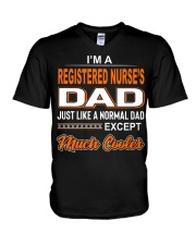 Registered nurse V-Neck T-Shirt thumbnail