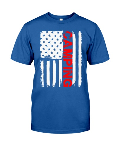 CAMPING AMERICAN FLAG - LIMITED EDITION
