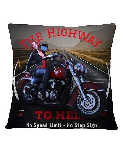 The Highway To Hell Biker Girl NEW DESIGN