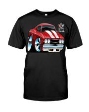 American 1969 Popular Soup Up Muscle Car  Classic T-Shirt thumbnail