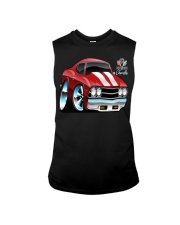 American 1969 Popular Soup Up Muscle Car  Sleeveless Tee front