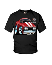 American 1969 Popular Soup Up Muscle Car  Youth T-Shirt thumbnail