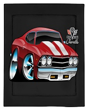 American 1969 Popular Soup Up Muscle Car  Comforter - Twin thumbnail