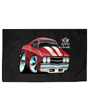American 1969 Popular Soup Up Muscle Car  Woven Rug - 6' x 4' front