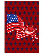 The American Flag With Stars BackGround 11x17 Poster thumbnail