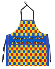 KEEP CALM AND CHECK THE FLOOR For Legos Apron thumbnail