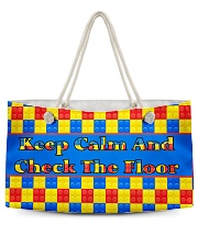 KEEP CALM AND CHECK THE FLOOR For Legos Weekender Tote thumbnail
