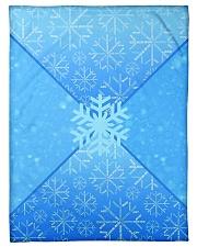 "Snowflake Bedding New Design Small Fleece Blanket - 30"" x 40"" thumbnail"