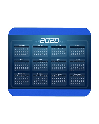 2020 Calendar Mouse Pads Posters NEW DESIGN