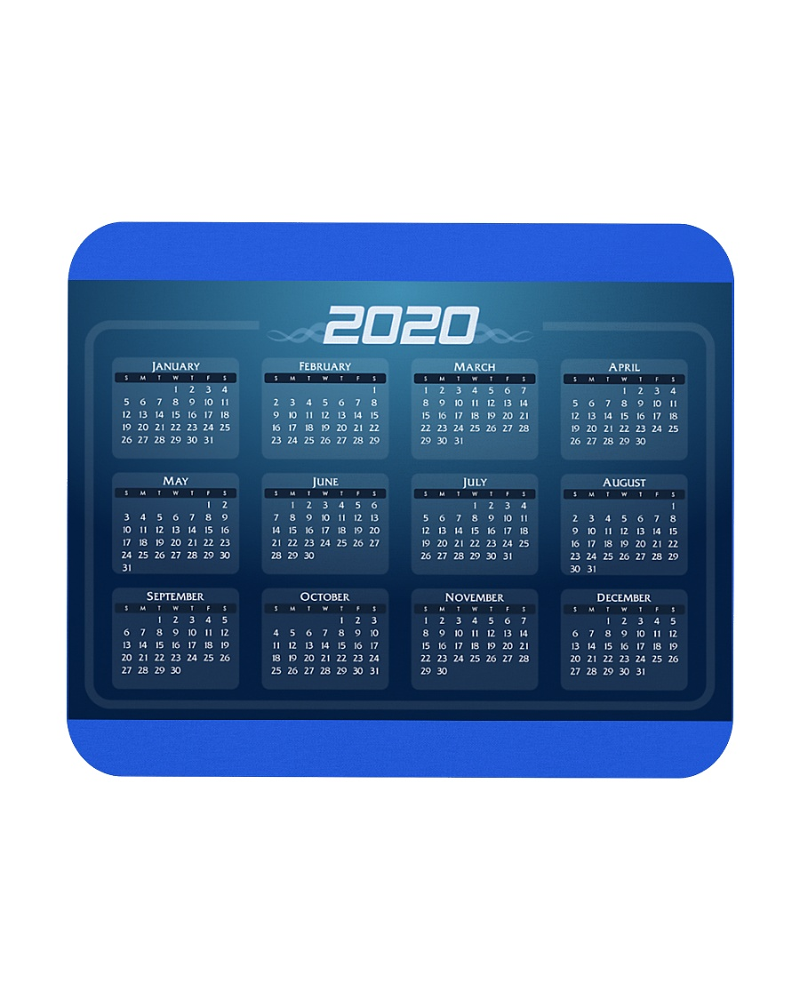 2020 Calendar Mouse Pads Posters NEW DESIGN Mousepad