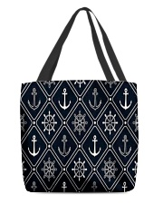 The American Flag With Stars BackGround All-over Tote thumbnail