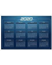 2020 Calendar Mouse Pads Posters NEW DESIGN 17x11 Poster thumbnail