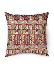 "Yesteryear Advent Calendar Indoor Pillow - 16"" x 16"" thumbnail"