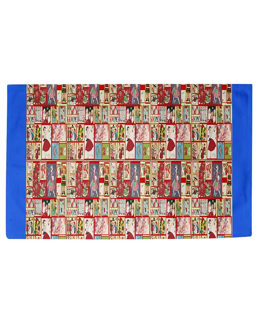 Yesteryear Advent Calendar Woven Rug - 6' x 4'